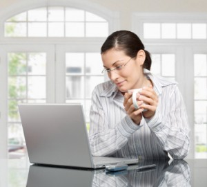 Morning at home
